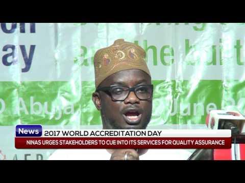 NINAS ACCREDITATION : ABUJA WORLD ACCREDITATION DAY