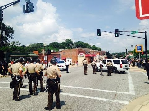 LIVE: Protests in Clayton after fatal police shooting in Ferguson