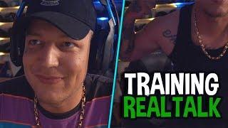 Endlich breit? 🤔 Realtalk über Training & Ernährung! | MontanaBlack Highlights