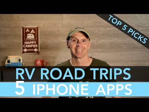 Top 5 iPhone Apps for R-Pod RV Road Trips Mp3