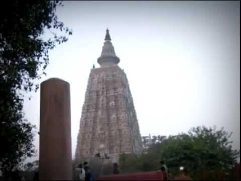 Asokan Pillar at Mahabodhi Temple in Bodhgaya