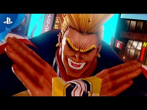 Jump Force - All Might Reveal Trailer   PS4
