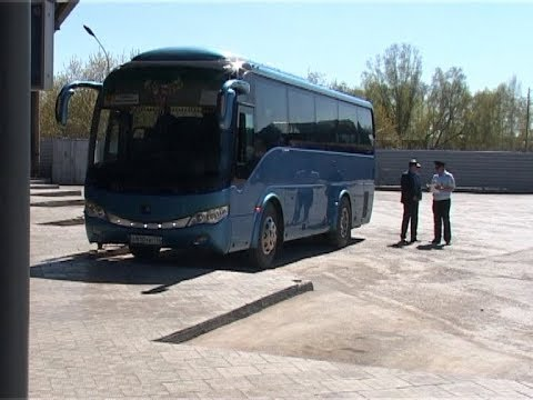 """В Камышлове прошел рейд """"Автобус"""""""