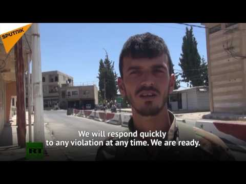 Russia-US Brokered Ceasefire Comes Into Force In Southwest Syria