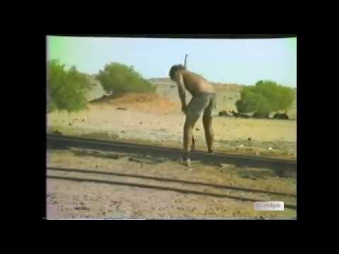 Pulling up the old Central Australia Railway William Creek 1982 Part2