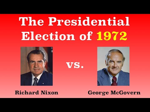 The American Presidential Election of 1972