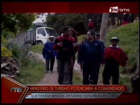 Ministerio de Turismo potenciará a comunidades que brindan servicios de turismo comunitario en Cañar