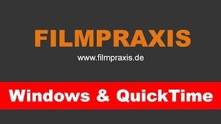 Windows & QuickTime Problem - Risiko gezielt minimieren. Eine Anleitung.