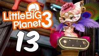 Little BIG Planet 3 [Part 13] Masque Makers Tower (PS4 Father & Son Gameplay)