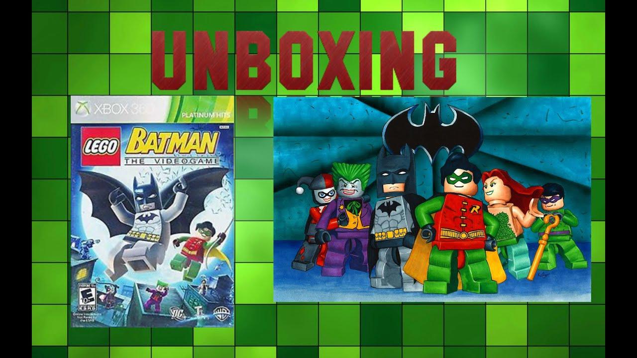 Unboxing Lego Batman The Videogame PLATINUM HITS Xbox 360