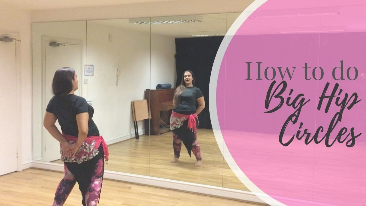 How to do the Big Hip Circle avoiding injuries - Bellydance tutorial