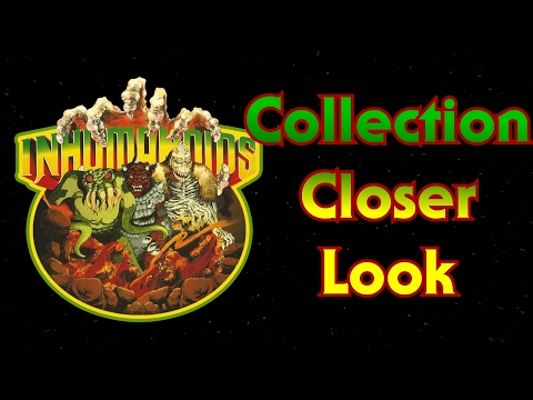 Closer Look - Inhumanoids Collection