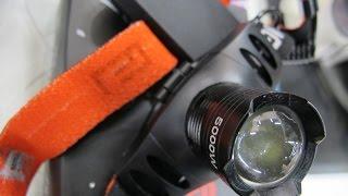 Светодиодный батареечный налобный фонарь Т-02!(http://www.alarmgadget.ru/ Подписывайтесь на канал
