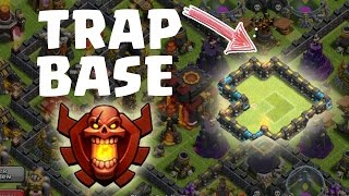 CHAMPIONS LEAGUE TRAP BASE || CLASH OF CLANS || Let's Play CoC [Deutsch/German Android iOS PC HD]