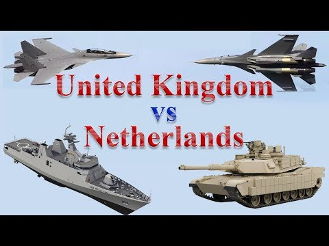 UK vs Netherlands Military Comparison 2017