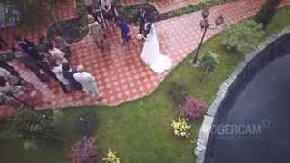 Выездная регистрация в ресторане Версаль (с воздуха) / Wedding aerial video example