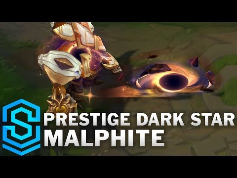 Prestige Dark Star Malphite Skin Spotlight - Pre-Release - League of Legends