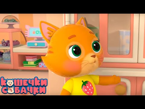 Мультфильм про кота и пса
