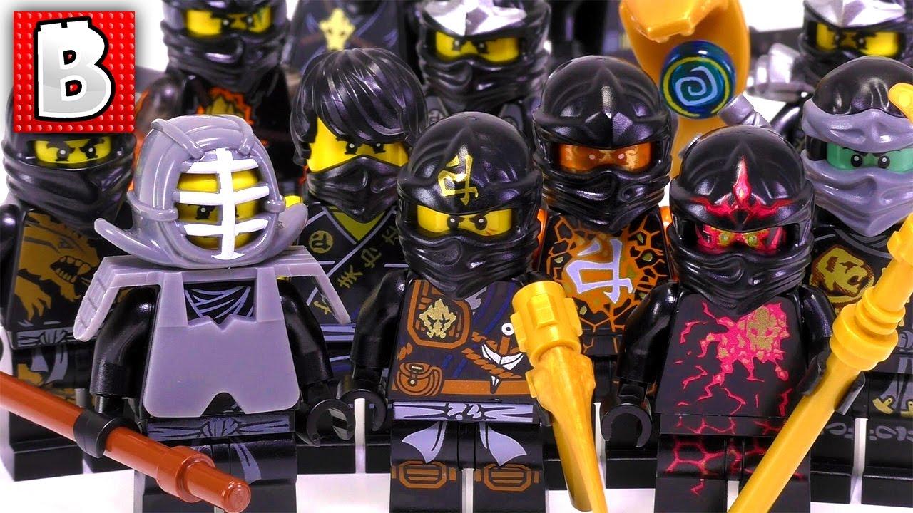 every lego ninjago cole minifigure ever made rare nrg