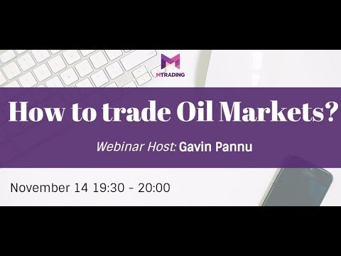 Learn How to Trade Oil Markets