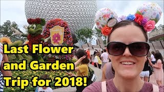Magical Mondays #49 | Our Last Epcot Flower and Garden Trip for 2018 thumbnail