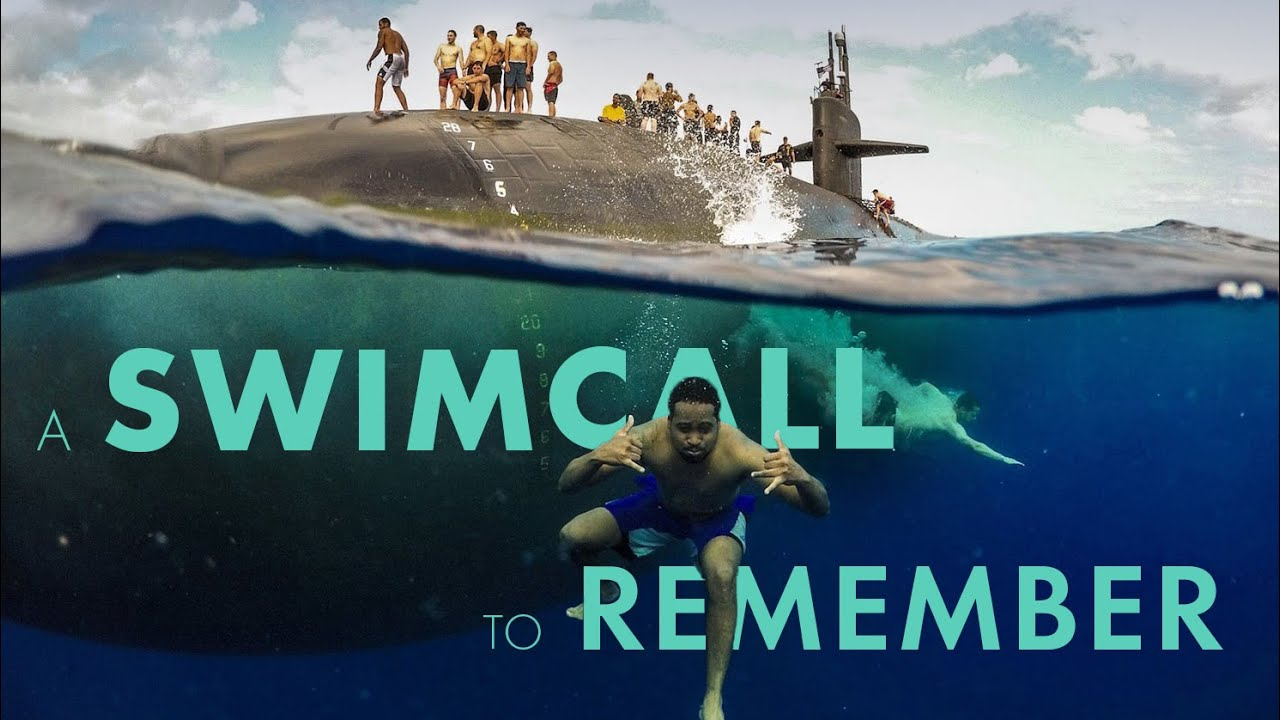 US Navy • A Swim Call to Remember !