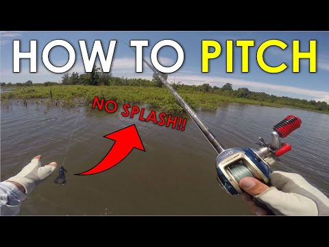 How To Pitch A Fishing Lure | Pitching Technique Explained For Beginners And Casting Tips