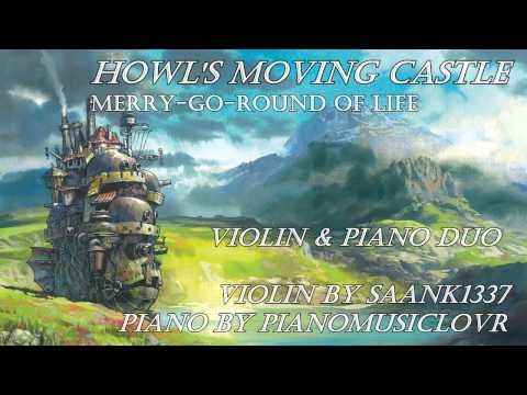 Howl's Moving Castle 【Violin & Piano】