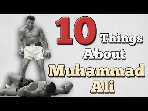 10 THING YOU MAY NOT KNOW ABOUT MUHAMMAD ALI   [ AboodyTV ]