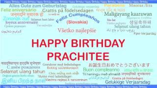 Prachitee   Languages Idiomas - Happy Birthday