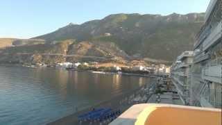 Лутраки,пляж (Греция)(, 2012-12-08T19:06:52.000Z)