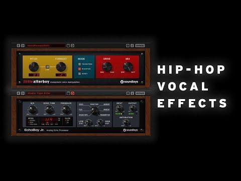 Hip-Hop Vocal Effects – Little AlterBoy & EchoBoy Jr.