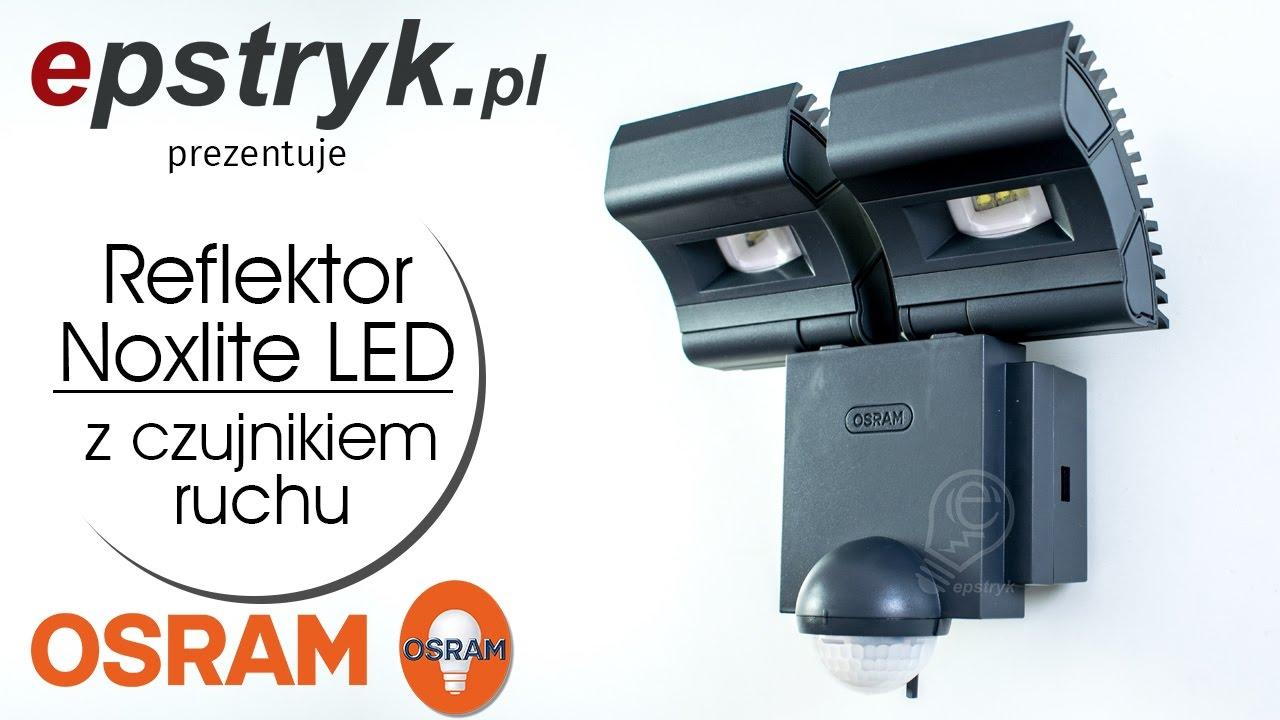 OSRAM Reflektor NOXLITE LED SPOT Sensor - wideoprezentacja