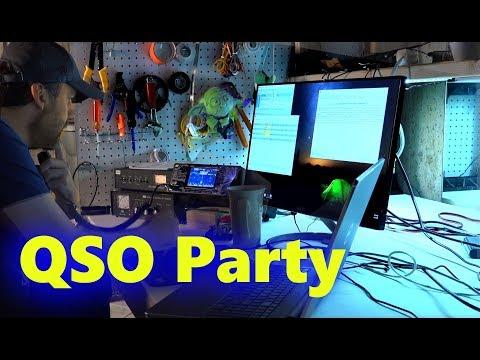 Icom 7300   Ham Radio QSO Party Contest   Computer CW Coding Software N1MM
