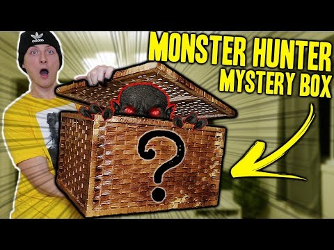 OPENING A MONSTER HUNTER MYSTERY BOX FROM THE DARK WEB!! (WON'T BELIEVE WHAT WE FOUND!!) thumbnail