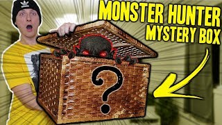 OPENING A MONSTER HUNTER MYSTERY BOX FROM THE DARK WEB!! (WON'T BELIEVE WHAT WE FOUND!!)