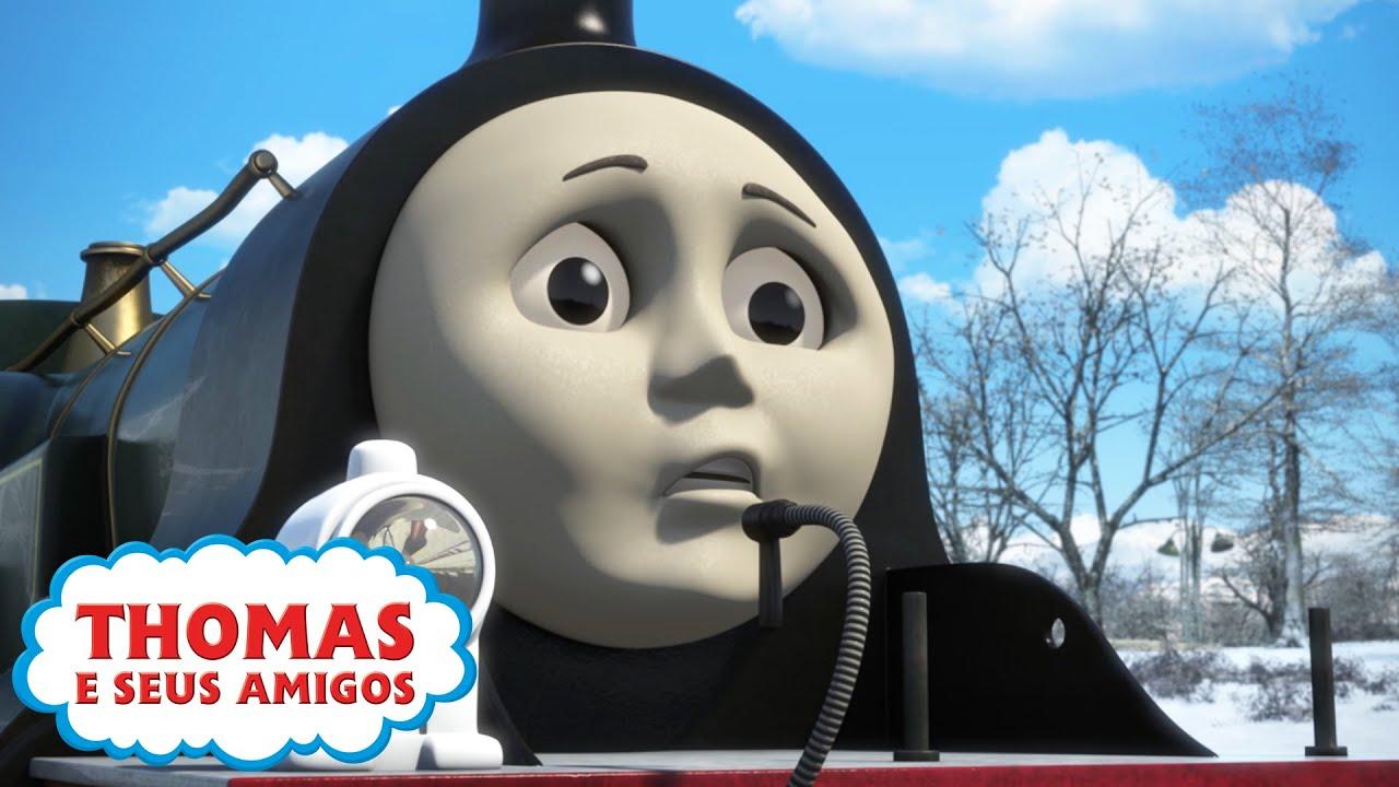 Thomas e Seus Amigos | O Grande Congelamento e mais! | 30 minutos de compilação | Época 21