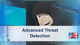 Advance Threat Detection - animated storytelling