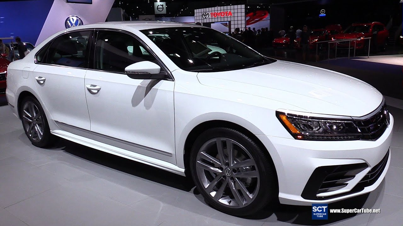 2016 volkswagen passat tsi r line exterior and interior walkaround 2015 la auto show youtube. Black Bedroom Furniture Sets. Home Design Ideas