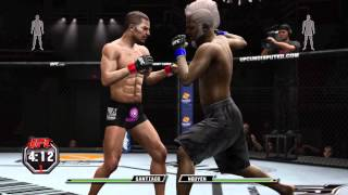 How to level up your create a fighter in UFC Undisputed 3 Maximum Points