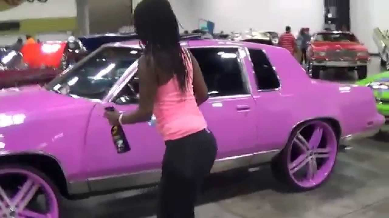 pink cutlass donk and a healthy butt - YouTube