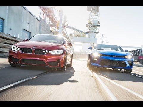 Bmw M4 Coupe Vs Chevrolet Camaro Ss Youtube