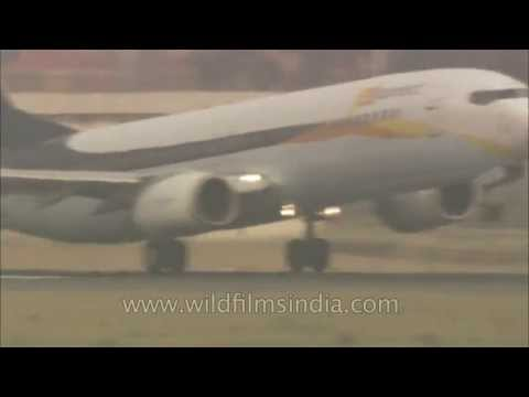Jet Konnect flight takes off from T3 Indira Gandhi International Airport