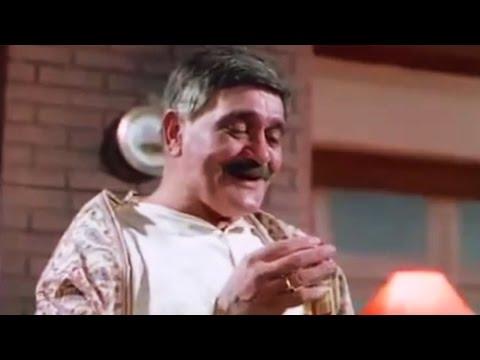 Om Prakash Drinks Entire Bottle of whiskey - Loafer, Comedy Scene