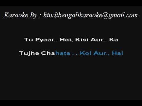 Tu Pyar Hai Kisi Aur Ka - Karaoke - Dil Hai Ke Manta Nahi - Kumar Sanu ; Anuradha Paudwal