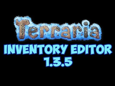 Terraria 1.3.5.3 Inventory Editor With Download!