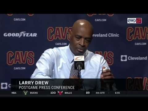 Larry Drew lays out his goals for Cavaliers' stretch run toward playoffs | CAVS-SUNS POSTGAME