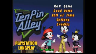 Animaniacs: Ten Pin Alley | Playstation Longplay
