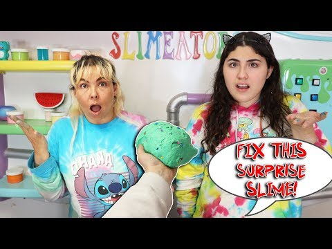 FIX THIS SURPRISE SLIME CHALLENGE! Slimeatory #609