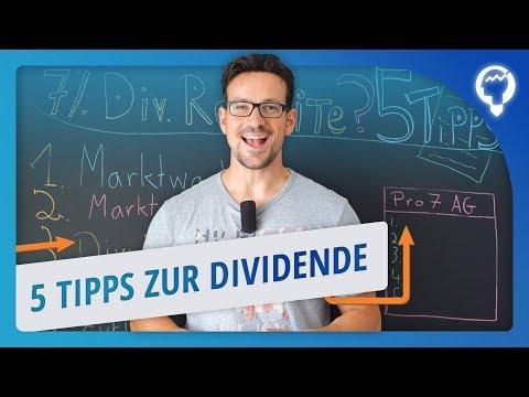 Aktien mit hoher Dividendenrendite! 5 Tipps BEVOR du sie kaufst - Pro7 Aktie Beispiel